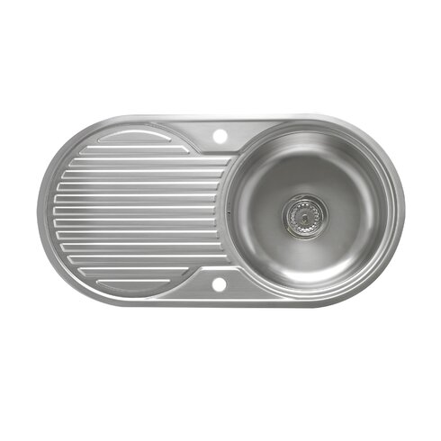 Roble 90cm x 48cm 1.0 Bowl Kitchen Sink