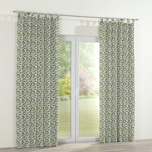 Polytric Flower Single Curtain Panel