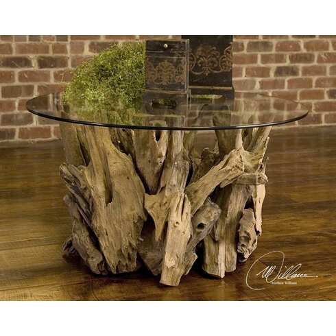 Union Rustic Cindi Driftwood Coffee TableReviewsWayfair