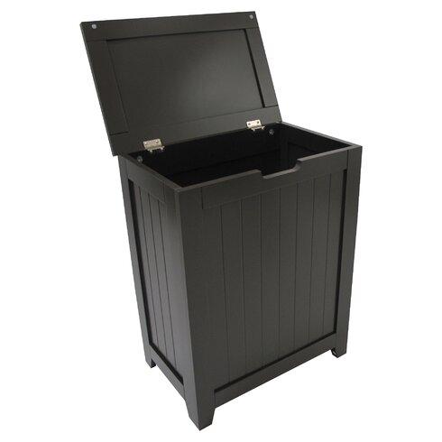 Rebrilliant Contemporary Country Cabinet Laundry Hamper