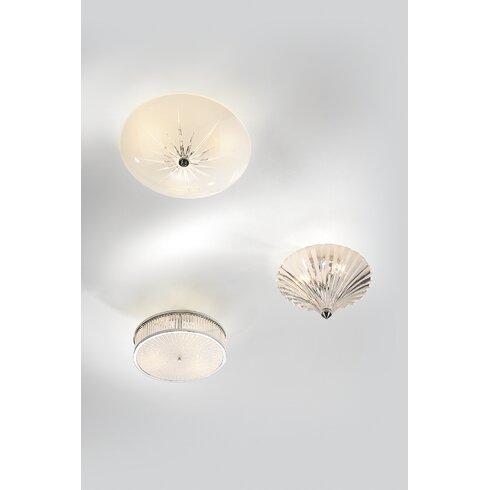 Albany 3 Light Flush Ceiling Light