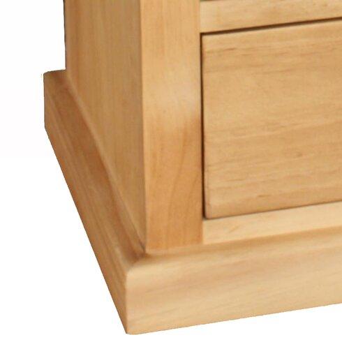 Tuscarora 3 Drawer Bedside Table