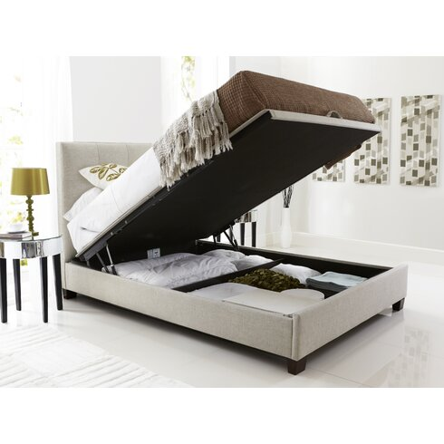 Penong Upholstered Ottoman Bed Frame