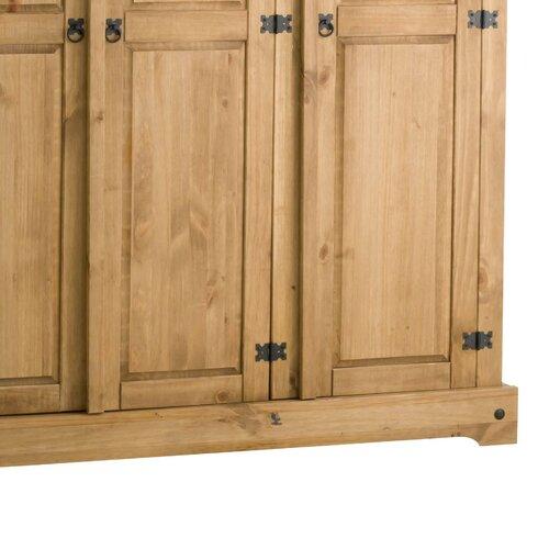 Traditional Corona 3 Door Wardrobe