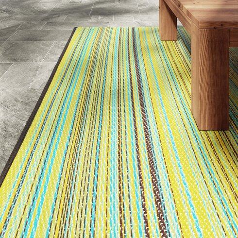 World Green Indoor/Outdoor Area Rug