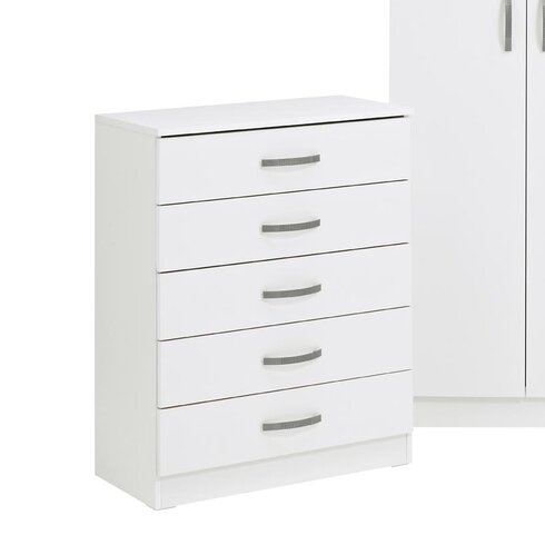 Russel 5 Drawer Chest of Drawers