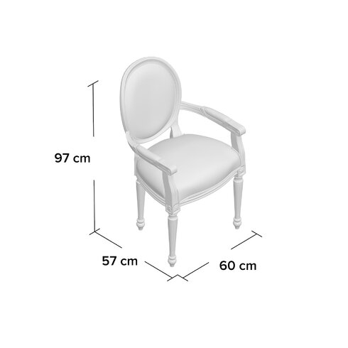 Solid Beech Upholstered Dining Chair
