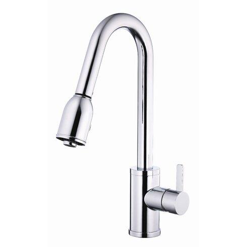 Amalfi Single Handle Deck Mount Kitchen Faucet