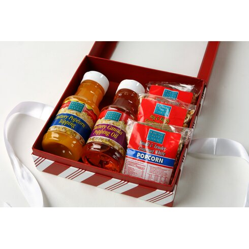 Complete Popcorn Popping Gift Set