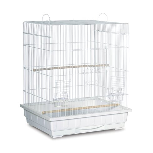 Square Top Parakeet  Bird Cage
