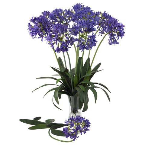 "29"" African Lily Floral Arrangements in Purple"