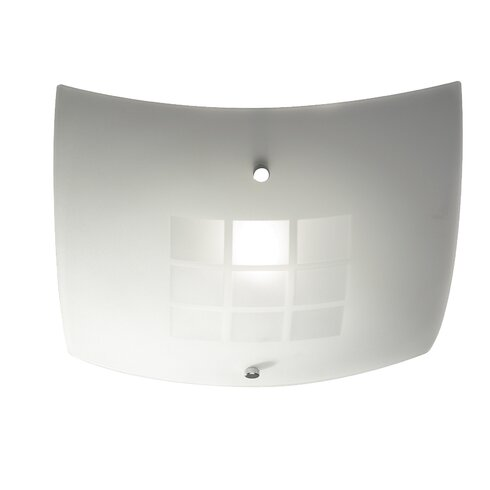 Ventana 1 Light Flush Ceiling Light