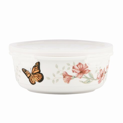 Butterfly Meadow Serve N Store Bowl with Lid