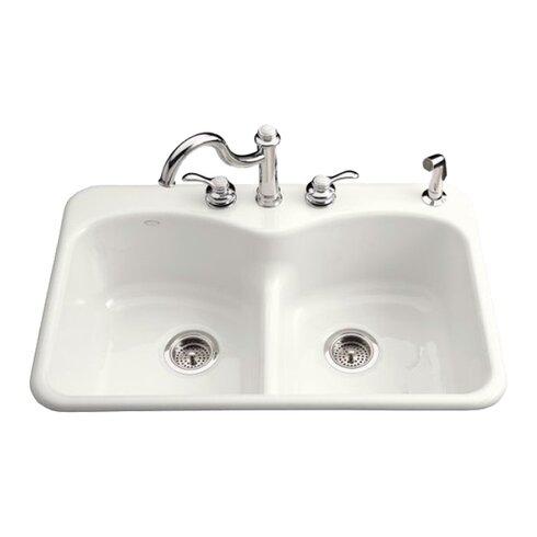 ... Kohler Langlade Smart Divide Sink By Kohler Langlade 33 Quot X 22 Quot  X 9 5 ...
