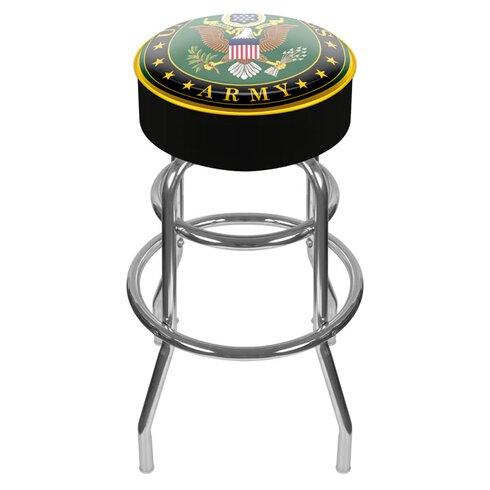"U.S. Army 31"" Swivel Bar Stool"