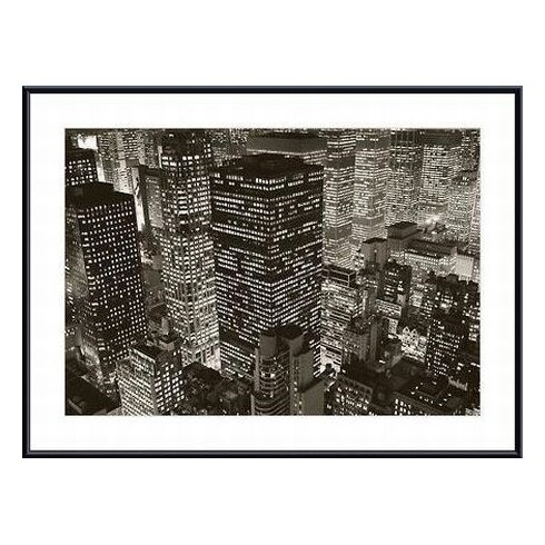 Mary Poppins over Midtown, NY 2006 by Michael Kenna Framed Photographic Print