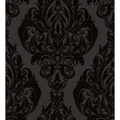 Plush 10m L x 52cm W Roll Wallpaper