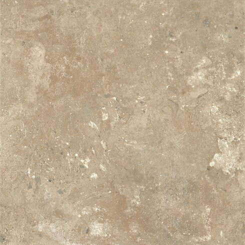 "Alterna 16"" x 16"" Engineered Stone Field Tile in Almond Cream"