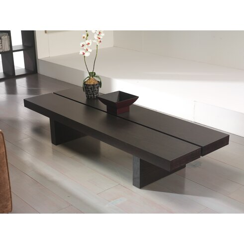 tema tokyo coffee table reviews wayfair. Black Bedroom Furniture Sets. Home Design Ideas