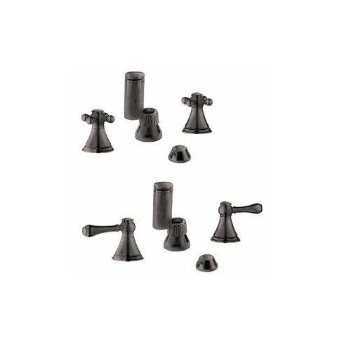 Geneva Vertical Spray Bidet Faucet, Less Handles