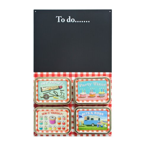 Coffee Break Bits and Bobs Magnetic Chalkboard