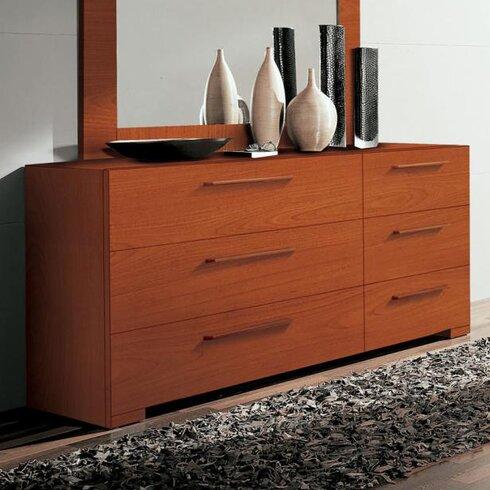 Wynd 6 Drawer Double Dresser