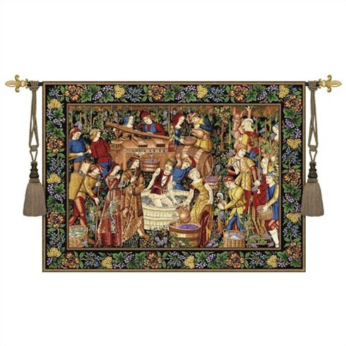 Still Life La Vendages Tapestry