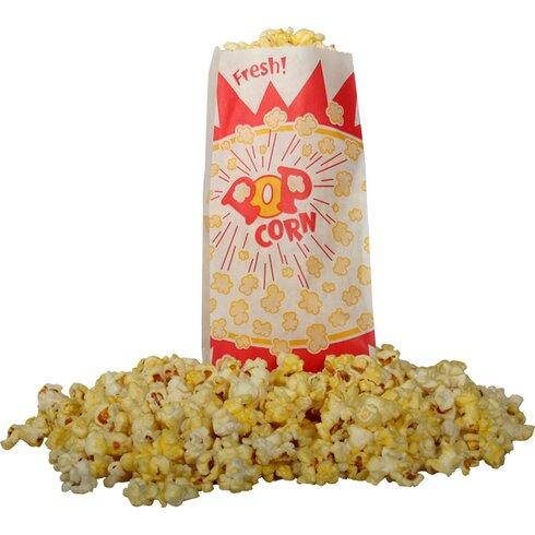 Burst Design Popcorn Bag