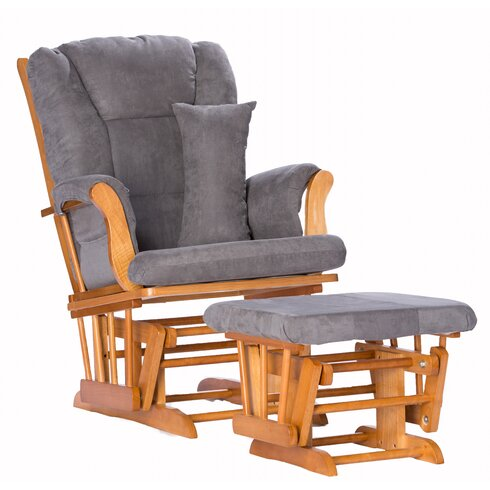 tuscany custom upholstery glider and ottoman - Glider Chairs