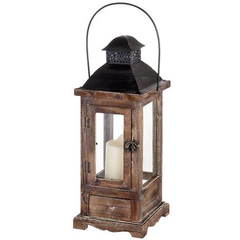 Antique Wooden Lantern