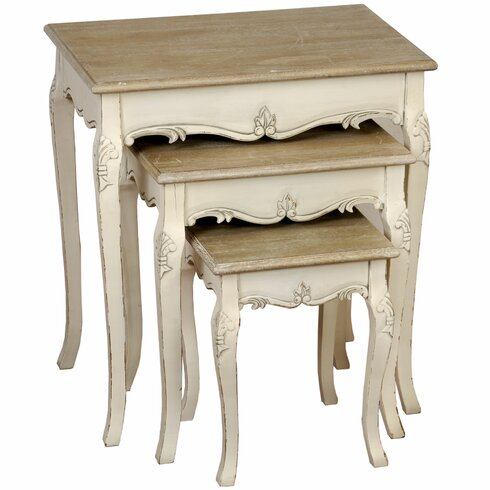 Country 3 Piece Nest of Tables