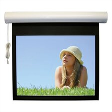 Lectric I RF Matte Black Electric Projection Screen Low Voltage Motor by Vutec