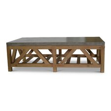 Laurinda Rectangle Wood Coffee Table by 17 Stories