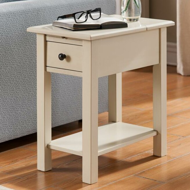 One Source Living Sutton Charging End Table Amp Reviews