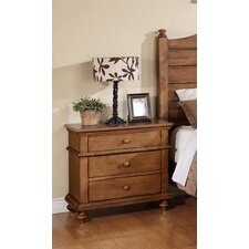 Courtdale 3 Drawer Nightstand by Three Posts