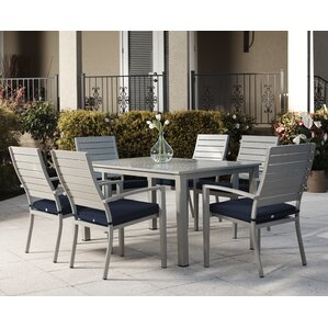 Cosima 7 Piece Dining Set With Cushion