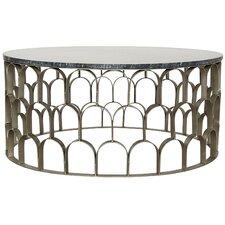 Mina Stone/Metal Coffee Table by Noir