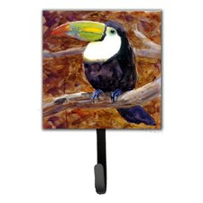 Toucan Leash Holder and Wall Hook by Caroline's Treasures