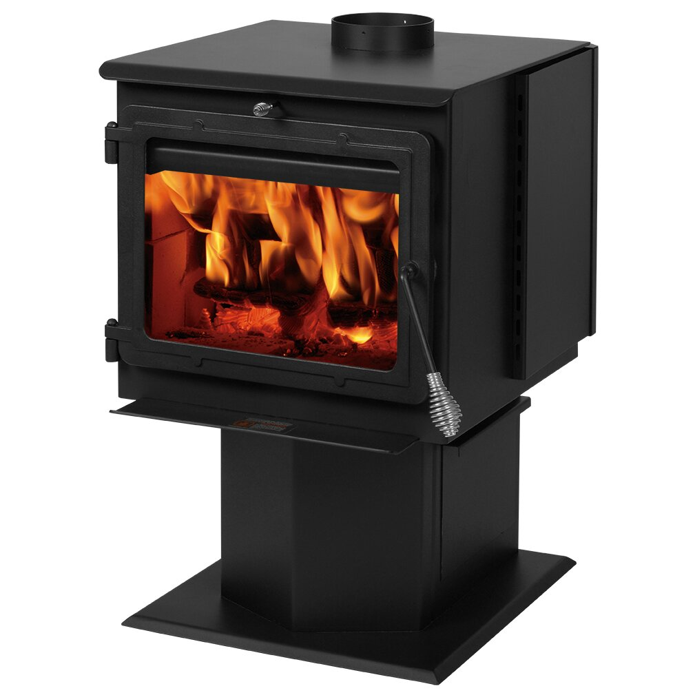 England's Stove Works 2,000 sq. ft. Direct Vent Wood Stove | Wayfair
