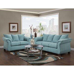 Microfiber Living Room Sets You\'ll Love   Wayfair