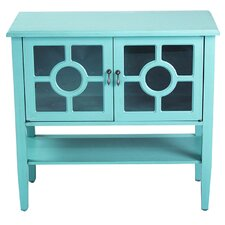 2 Door Console Cabinet by Heather Ann Creations