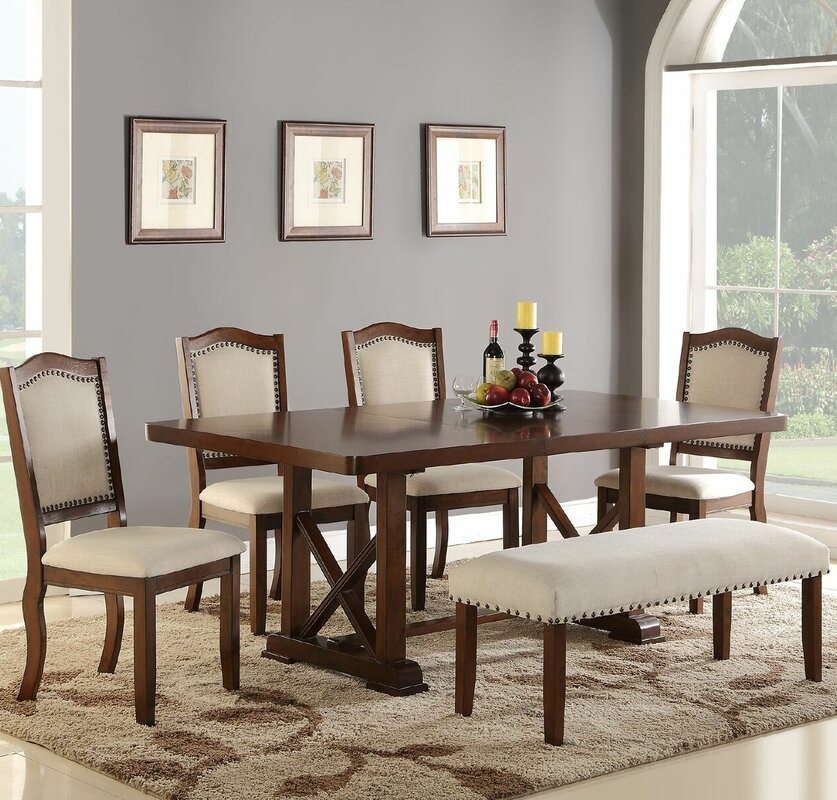 Canora Grey Chevaliers Modern 6 Piece Dining Set & Reviews