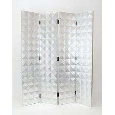 72 x 64 Star 4 Panel Room Divider by Wayborn