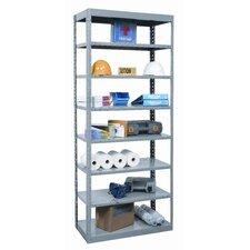Hi-Tech 87 H 7 Shelf Shelving Unit Starter by Hallowell