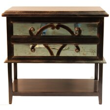 Adonis 2 Drawer Nightstand by World Menagerie