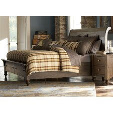 Louisiana Sleigh Bed by Liberty Furniture