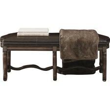 Montebella Leather Bedroom Bench by Bernhardt