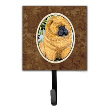 Chow Chow Leash Holder and Key Hook by Caroline's Treasures