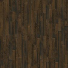 "Melrose Hickory 5"" Engineered Hickory Hardwood Flooring in Bayou Brown"