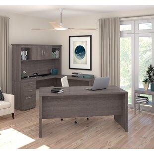 Brayden Studio Pratyush U-Shape Computer Desk